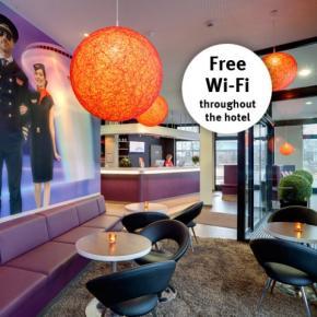 廉价旅馆 - MEININGER Hotel Frankfurt Airport