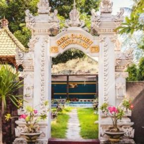 廉价旅馆 - Nusa Garden Bungalow