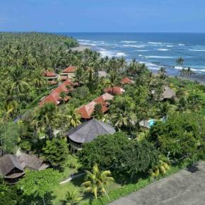 廉价旅馆 - Puri Dajuma Cottages, Eco Beach Resort and Spa