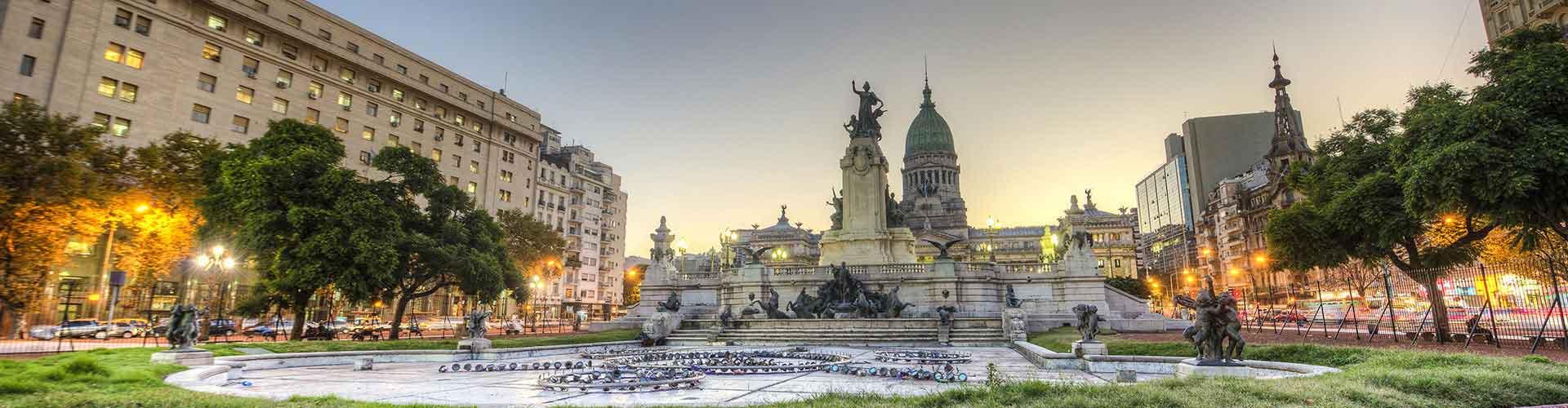 布宜诺斯艾利斯 – 纽伯瑞机场 附近的青年旅舍。布宜诺斯艾利斯地图,布宜诺斯艾利斯 所有青年旅馆的照片和评分。