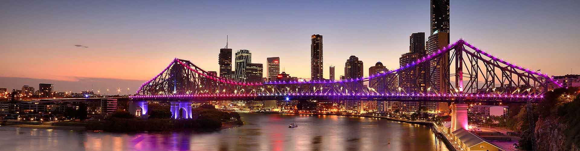 布里斯班 – South Brisbane区的青年旅馆。布里斯班 地图,布里斯班 每间青年旅馆的照片和评分。