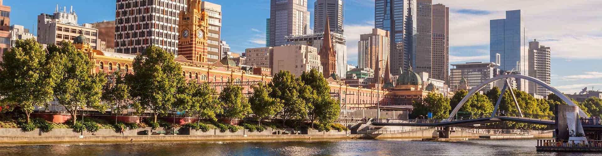 墨尔本 – Melbourne区的青年旅馆。墨尔本 地图,墨尔本 每间青年旅馆的照片和评分。