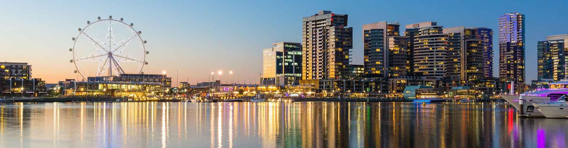 墨尔本 – Carlton South区的青年旅馆。墨尔本 地图,墨尔本 每间青年旅馆的照片和评分。