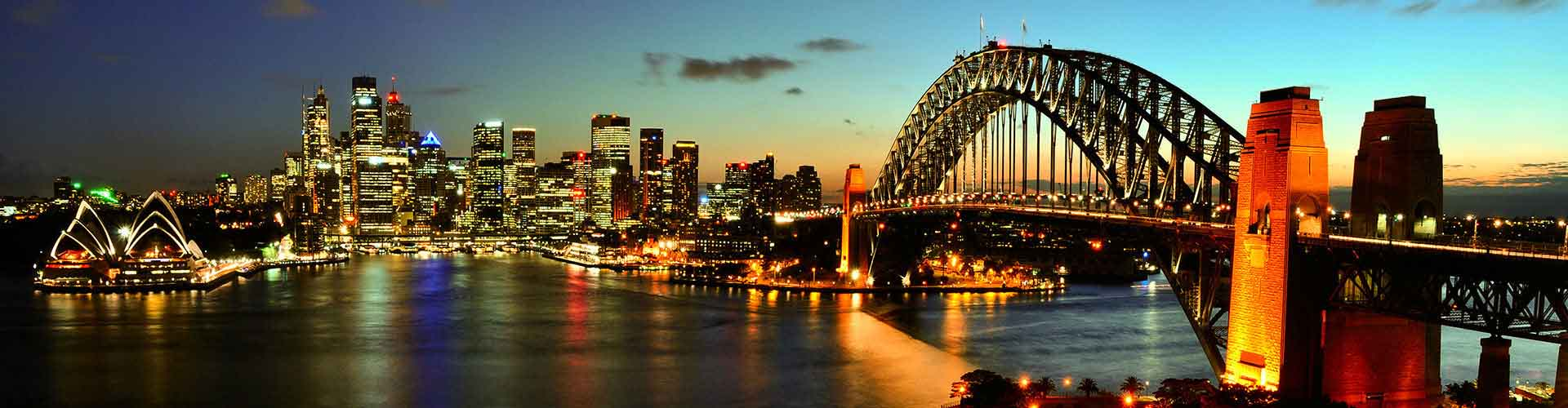 悉尼 – Darlinghurst区的露营地。悉尼地图,悉尼每个露营地的照片和评价。