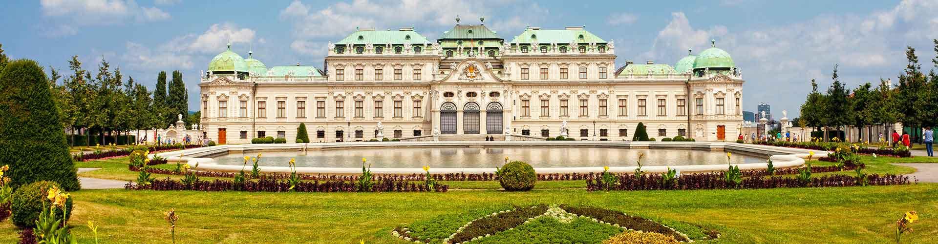 维也纳 – Favoriten区的青年旅馆。维也纳 地图,维也纳 每间青年旅馆的照片和评分。