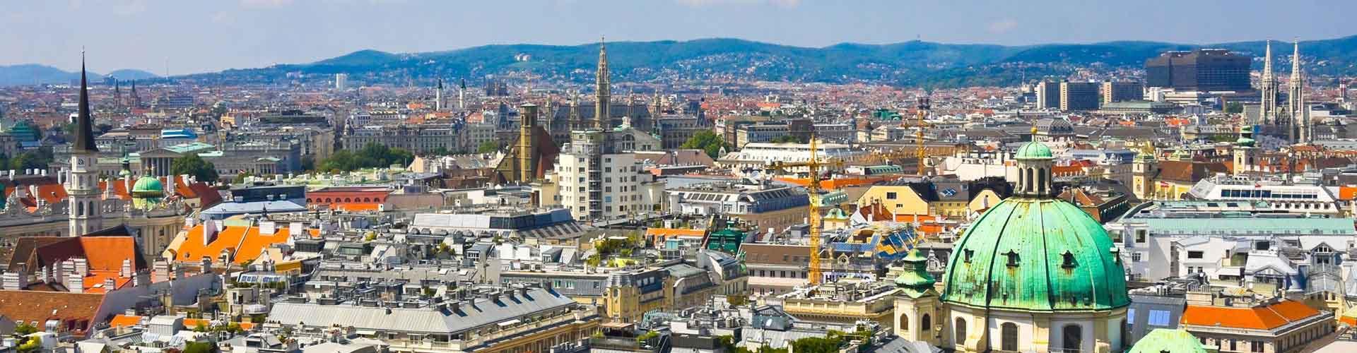 维也纳 – Josefstadt区的青年旅馆。维也纳 地图,维也纳 每间青年旅馆的照片和评分。