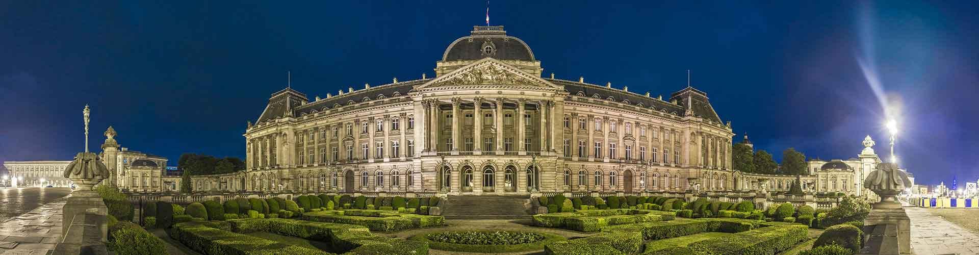 布鲁塞尔 – Bruxelles-ville区的青年旅馆。布鲁塞尔 地图,布鲁塞尔 每间青年旅馆的照片和评分。