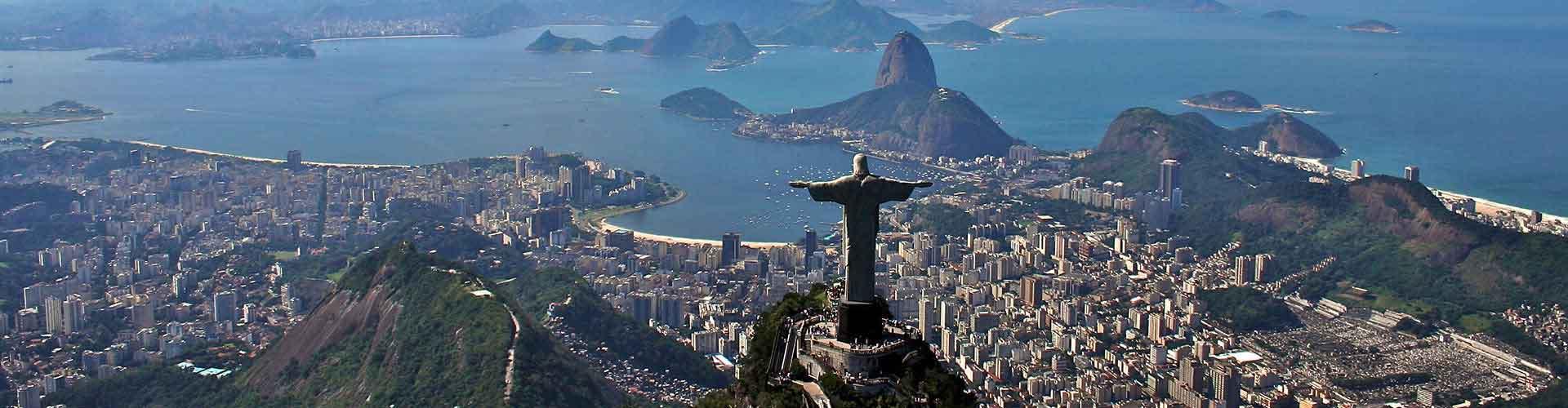 里约热内卢 – 基督像 附近的青年旅舍。里约热内卢地图,里约热内卢 所有青年旅馆的照片和评分。