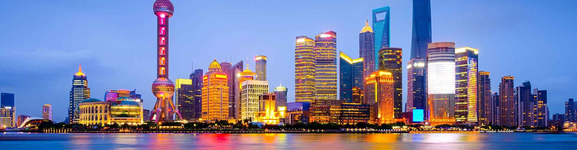 上海 – 上海的宾馆。上海地图,上海每间宾馆的照片和评价。