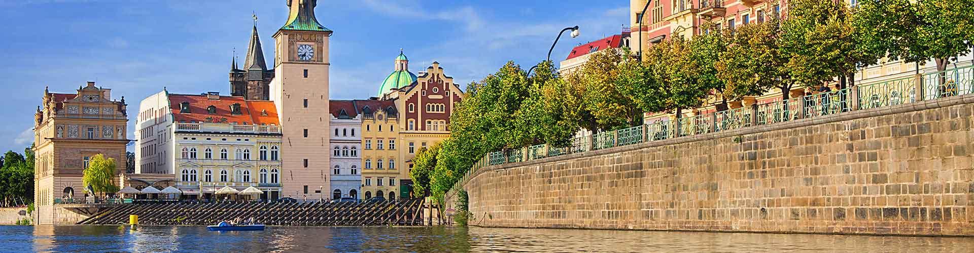 布拉格 – 斯迈塔纳博物馆 附近的青年旅舍。布拉格地图,布拉格 所有青年旅馆的照片和评分。