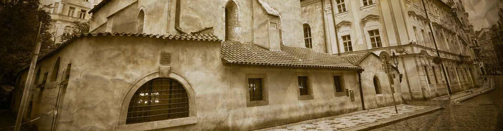 布拉格 – 犹太大会堂附近的公寓。布拉格地图,布拉格每间公寓的照片和评价。