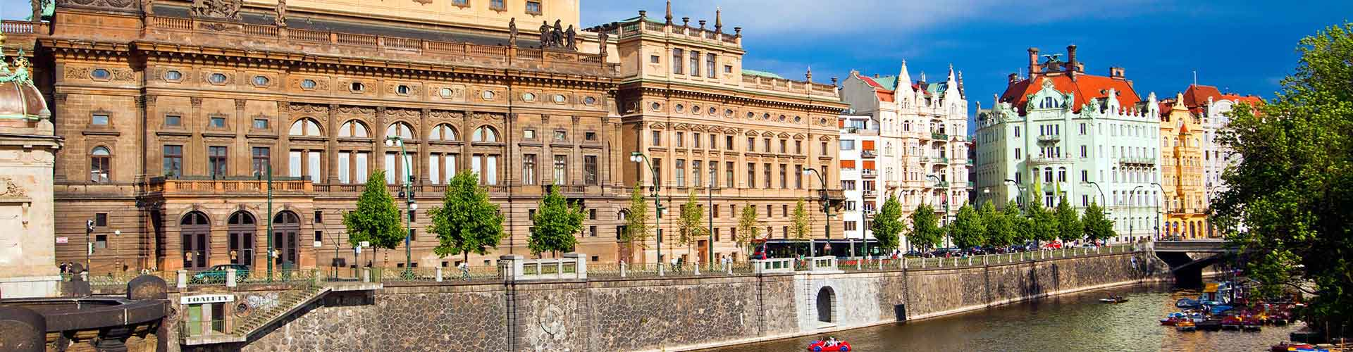 布拉格 – 国家大剧院附近的公寓。布拉格地图,布拉格每间公寓的照片和评价。
