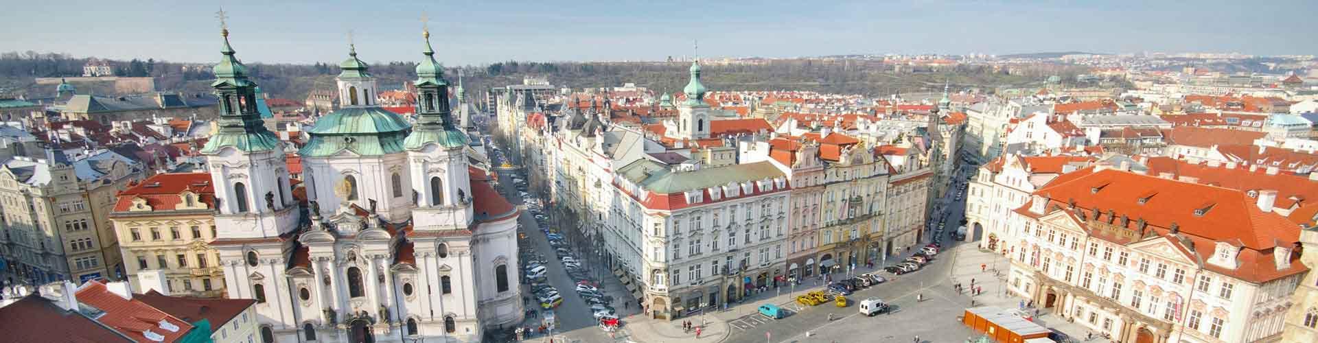 布拉格 – 老城广场附近的宾馆。布拉格地图,布拉格每间宾馆的照片和评价。