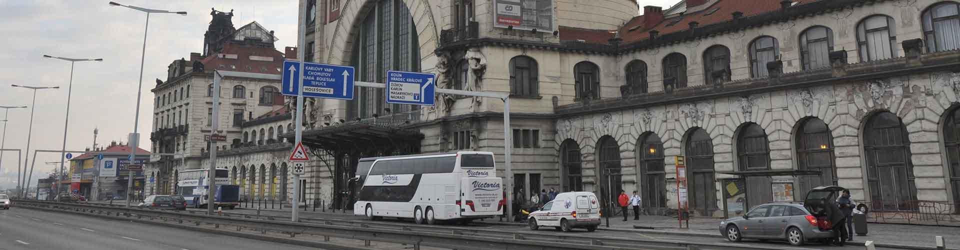 布拉格 – 布拉格总车站附近的公寓。布拉格地图,布拉格每间公寓的照片和评价。