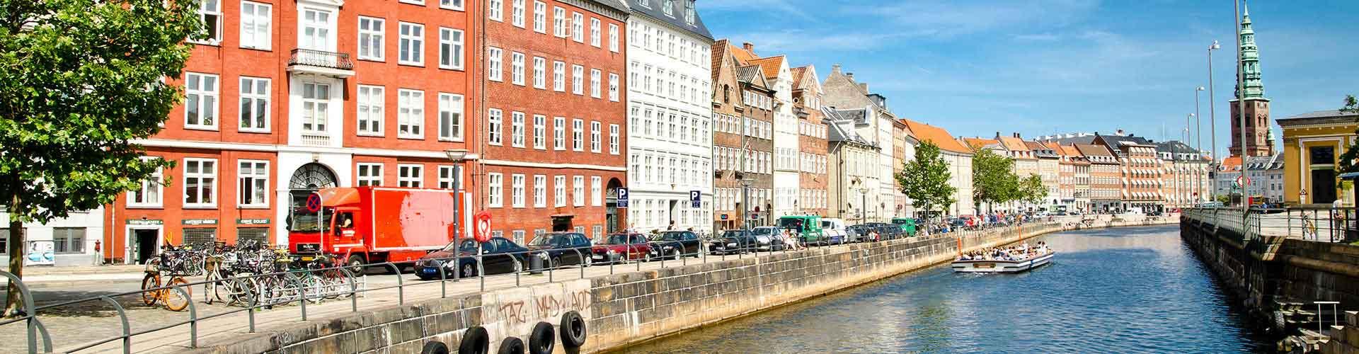 哥本哈根 – Indre By区的青年旅馆。哥本哈根 地图,哥本哈根 每间青年旅馆的照片和评分。