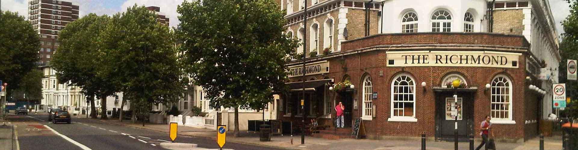 伦敦 – Borough of Hammersmith and Fulham区的公寓。伦敦地图,伦敦每间公寓的照片和评价。
