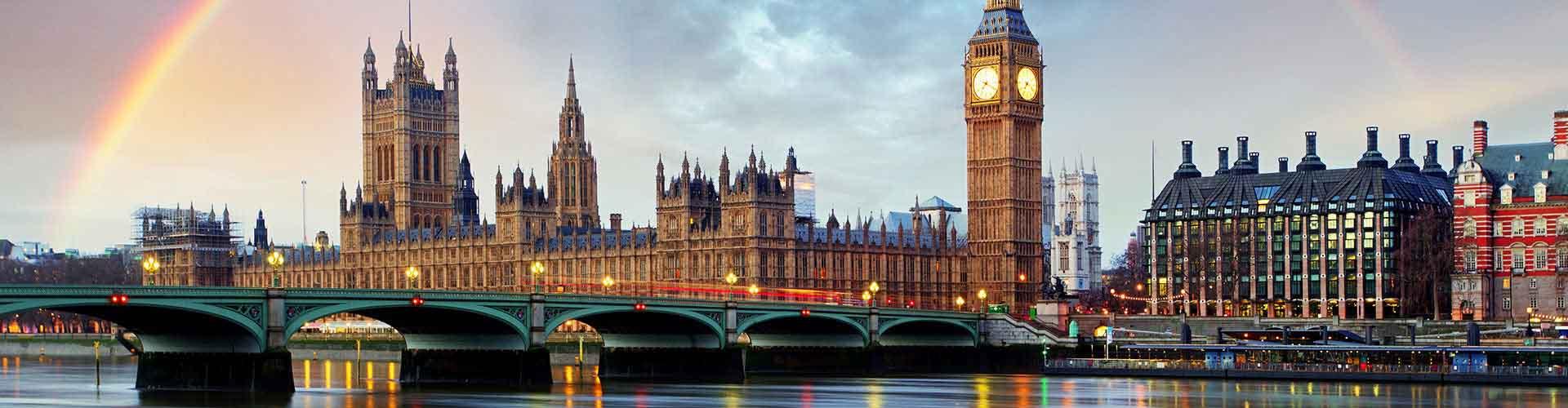 伦敦 – Borough of Westminster区的青年旅馆。伦敦 地图,伦敦 每间青年旅馆的照片和评分。