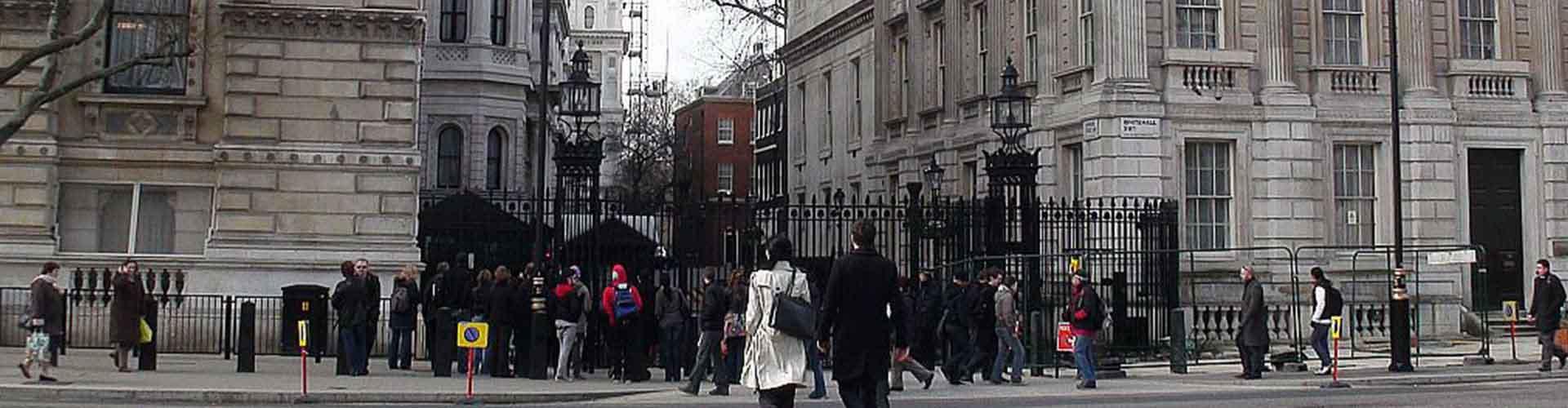 伦敦 – 唐宁街10号附近的青年旅舍。伦敦地图,伦敦每家青年旅舍的照片和评价。