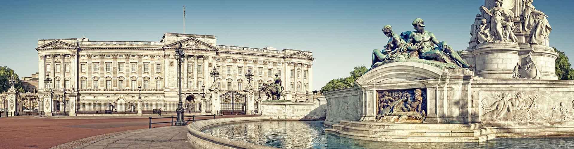 伦敦 – 白金汉宫 附近的青年旅舍。伦敦地图,伦敦 所有青年旅馆的照片和评分。