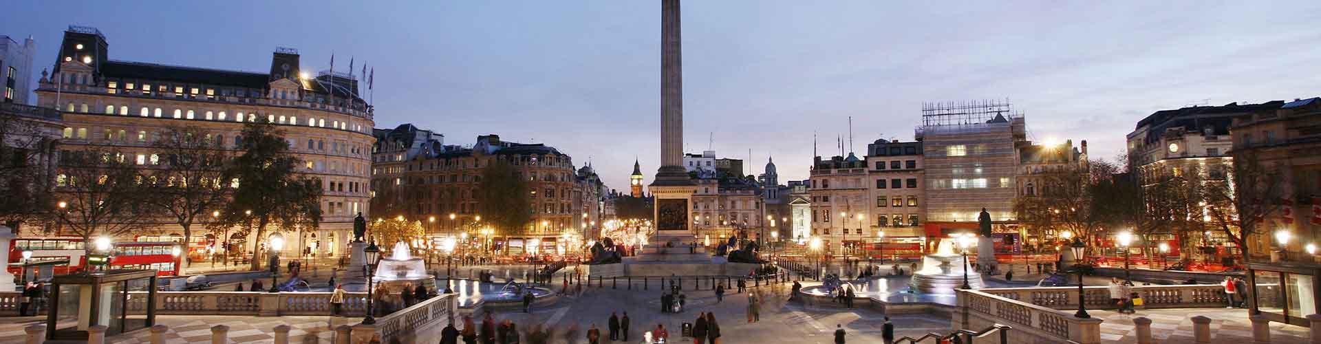 伦敦 – Nelson's Column附近的青年旅舍。伦敦地图,伦敦每家青年旅舍的照片和评价。