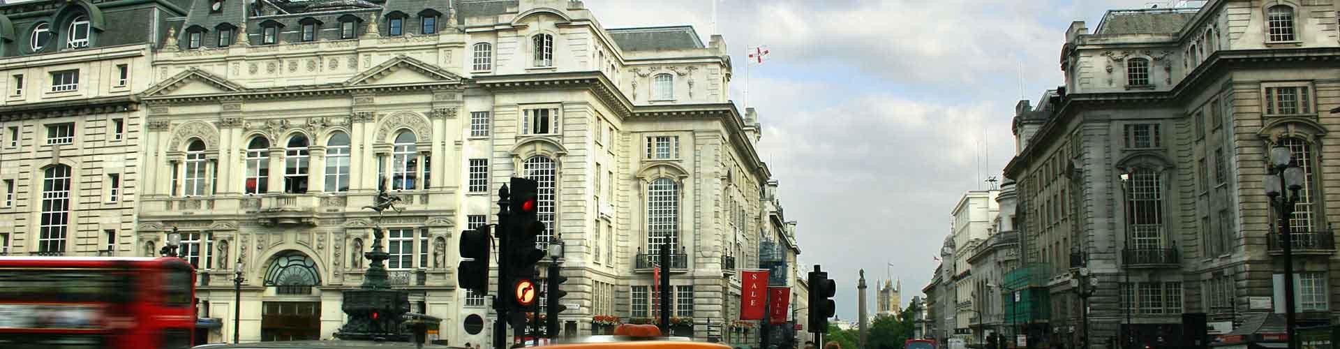 伦敦 – 皮卡迪利广场附近的宾馆。伦敦地图,伦敦每间宾馆的照片和评价。