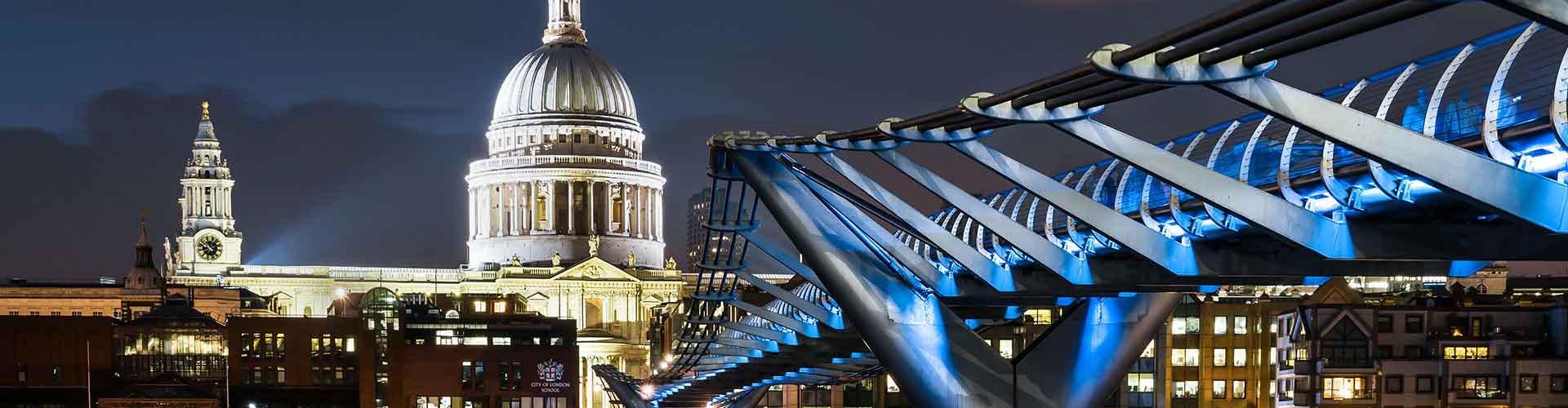 伦敦 – St Paul's Cathedral附近的宾馆。伦敦地图,伦敦每间宾馆的照片和评价。