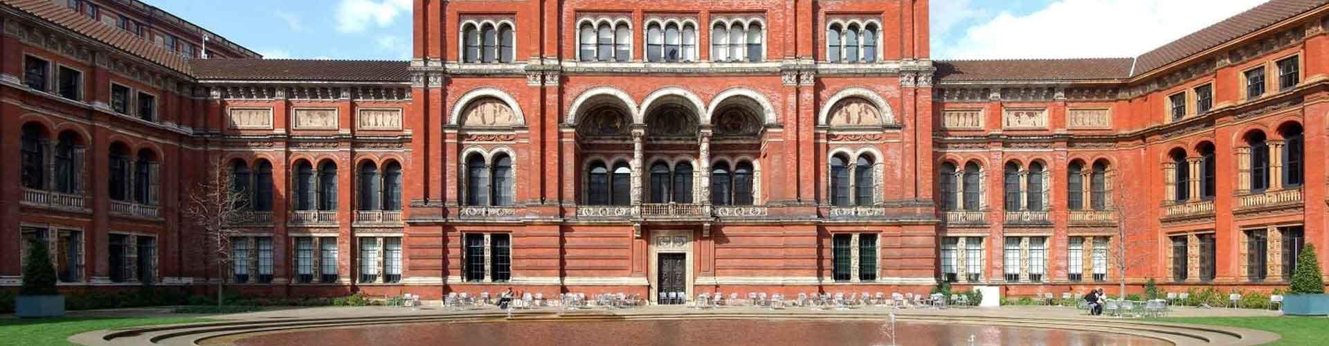 伦敦 – 维多利亚和艾伯特博物馆 附近的青年旅舍。伦敦地图,伦敦 所有青年旅馆的照片和评分。