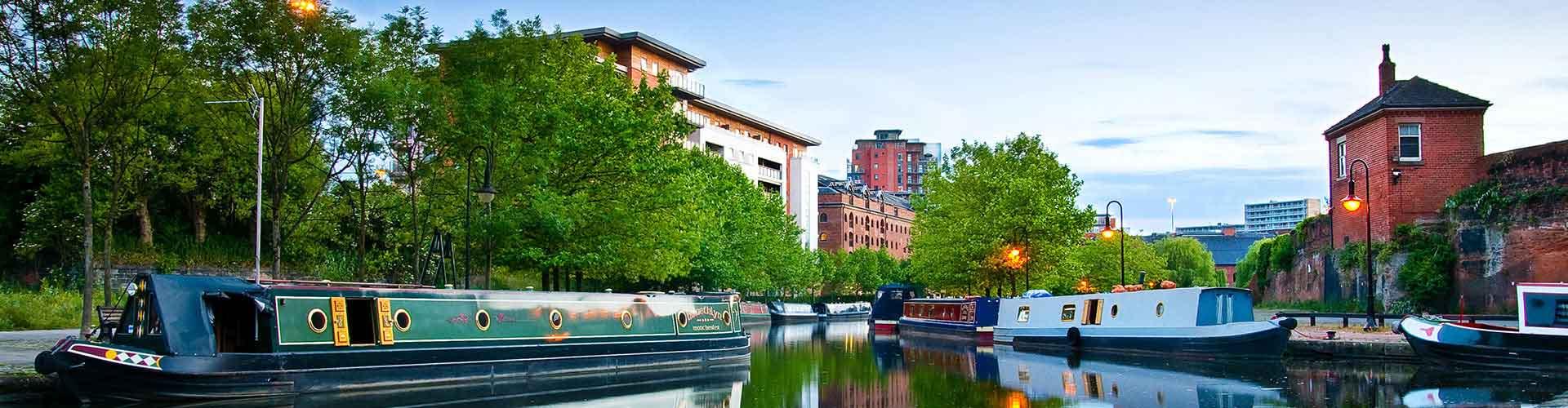 曼彻斯特 – Ancoats区的青年旅馆。曼彻斯特 地图,曼彻斯特 每间青年旅馆的照片和评分。