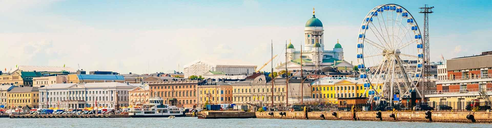 赫尔辛基 – 赫尔辛基大教堂附近的宾馆。赫尔辛基地图,赫尔辛基每间宾馆的照片和评价。