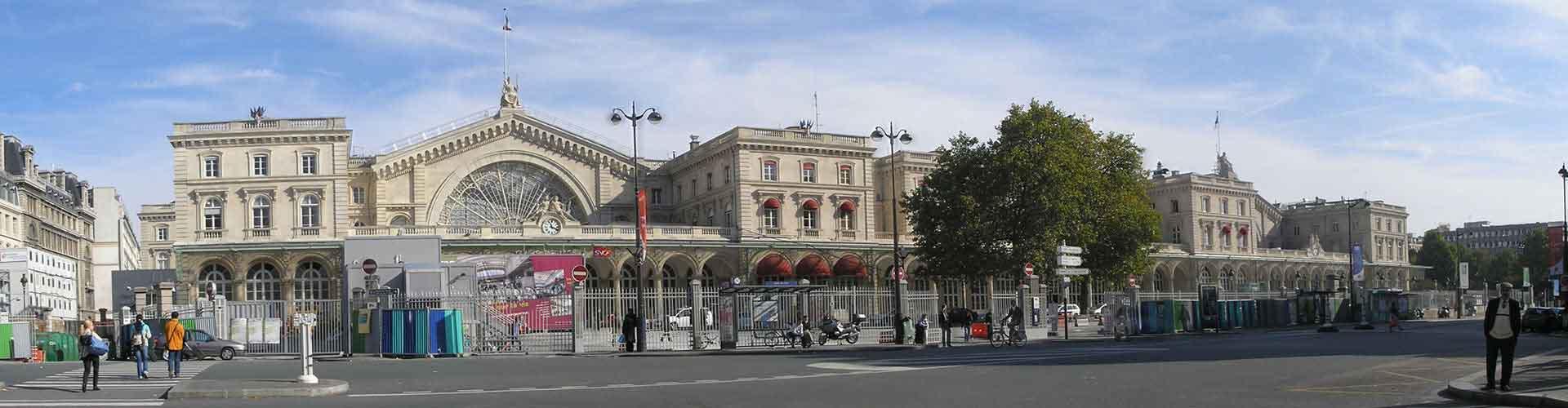巴黎 – 10th District区的露营地。巴黎地图,巴黎每个露营地的照片和评价。
