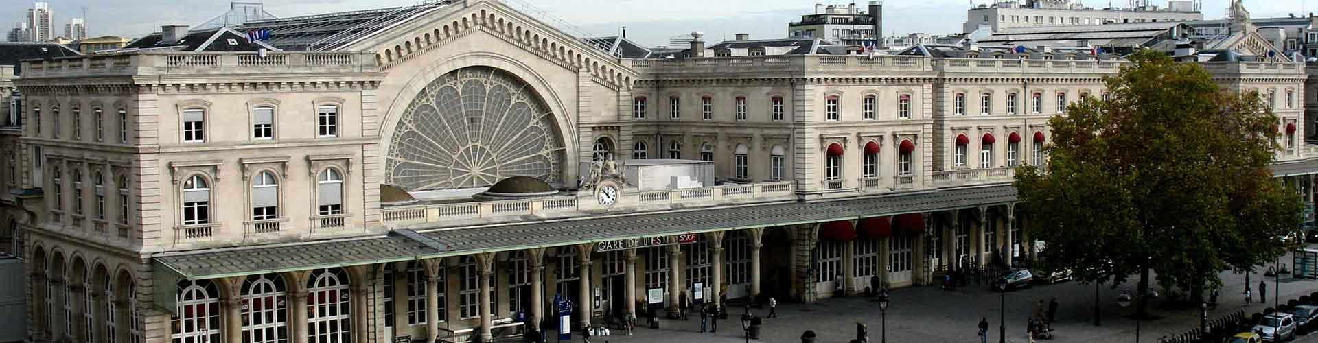 巴黎 – Gare de l'Est区的青年旅馆。巴黎 地图,巴黎 每间青年旅馆的照片和评分。