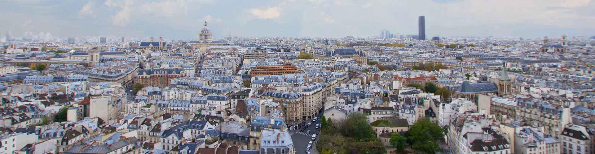 巴黎 – Quartier Latin区的露营地。巴黎地图,巴黎每个露营地的照片和评价。
