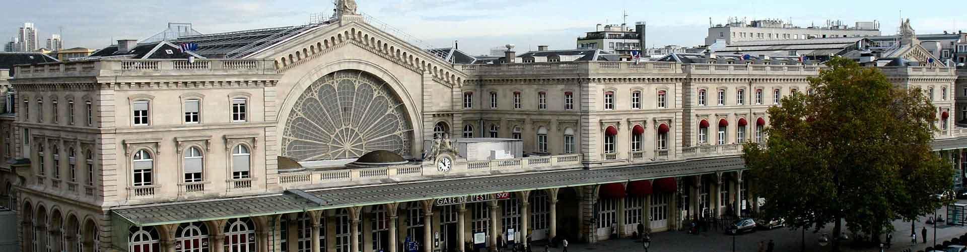 巴黎 – Gare de l'Est railway station附近的露营地。巴黎地图,巴黎每个露营地的照片和评价。