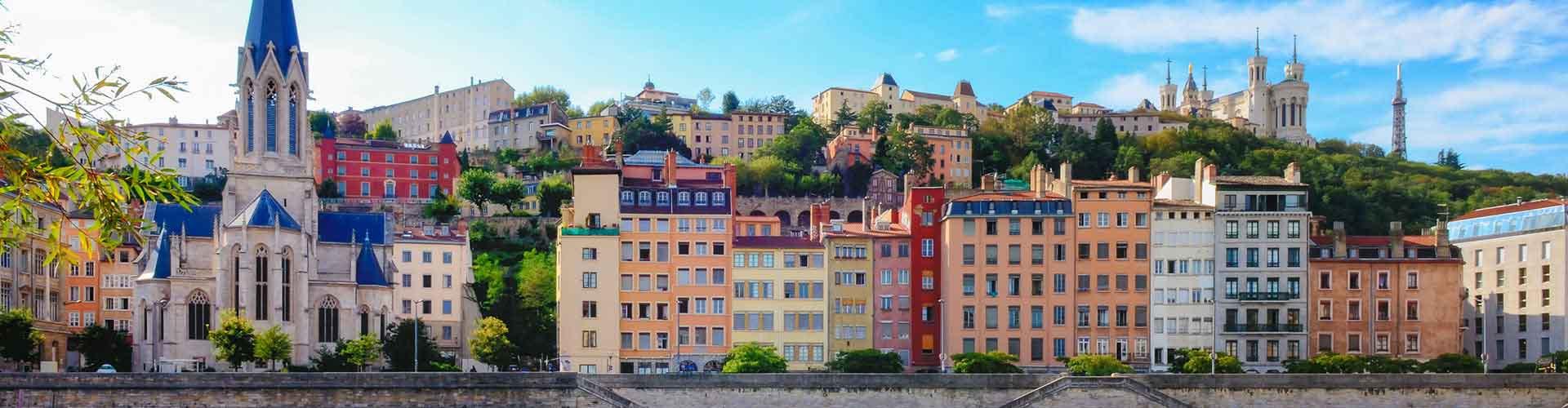 里昂 – 里昂派哈什火车附近的青年旅舍。里昂地图,里昂每家青年旅舍的照片和评价。