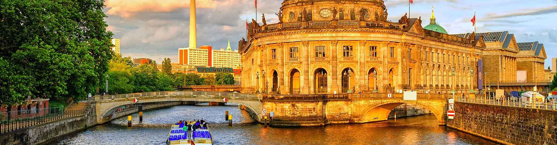 柏林 – District Tiergarten区的青年旅馆。柏林 地图,柏林 每间青年旅馆的照片和评分。
