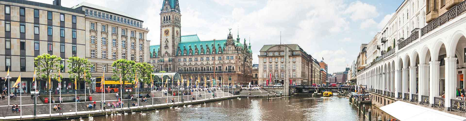 汉堡 – Altona Altstadt区的青年旅舍。汉堡地图,汉堡每间青年旅舍的照片和评价。