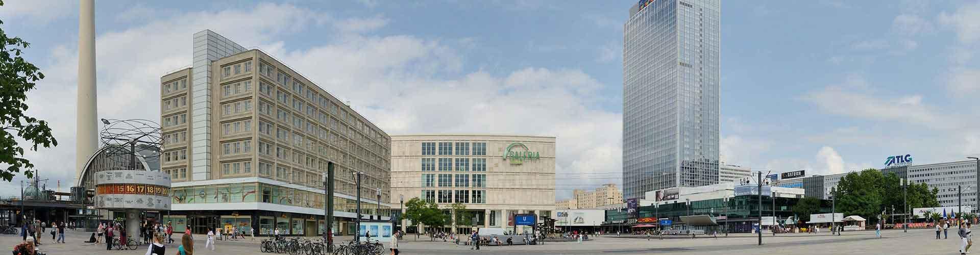 柏林 – 亚历山大 附近的青年旅舍。柏林地图,柏林 所有青年旅馆的照片和评分。