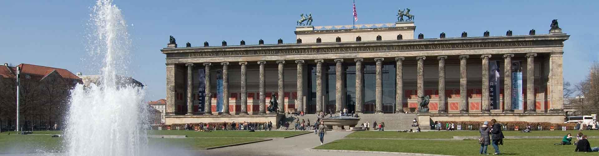 柏林 – 老博物馆及佩加蒙博物馆附近的露营地。柏林地图,柏林每个露营地的照片和评价。