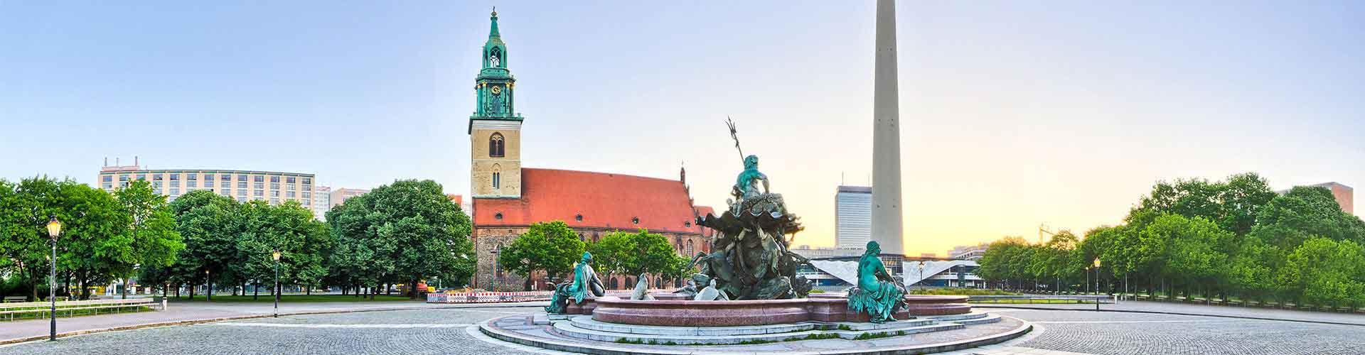 柏林 – 电视塔 附近的青年旅舍。柏林地图,柏林 所有青年旅馆的照片和评分。
