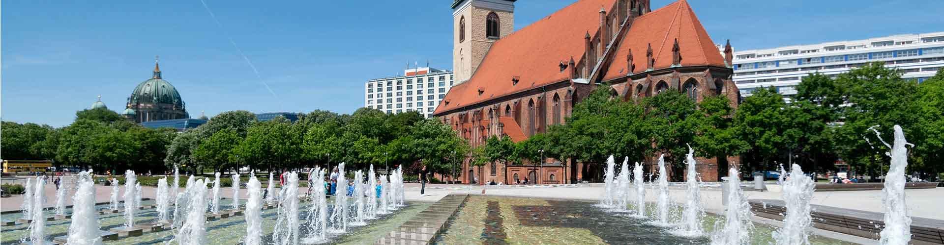 柏林 – 圣母教堂附近的露营地。柏林地图,柏林每个露营地的照片和评价。