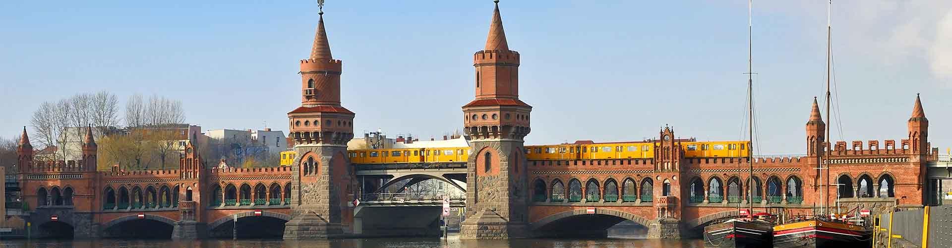 柏林 – 奥伯鲍姆桥附近的公寓。柏林地图,柏林每间公寓的照片和评价。
