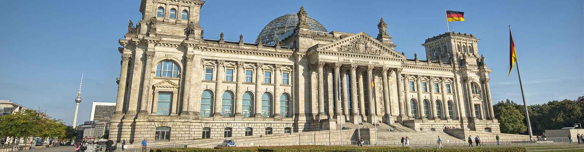 柏林 – 德国国会大厦 附近的青年旅舍。柏林地图,柏林 所有青年旅馆的照片和评分。