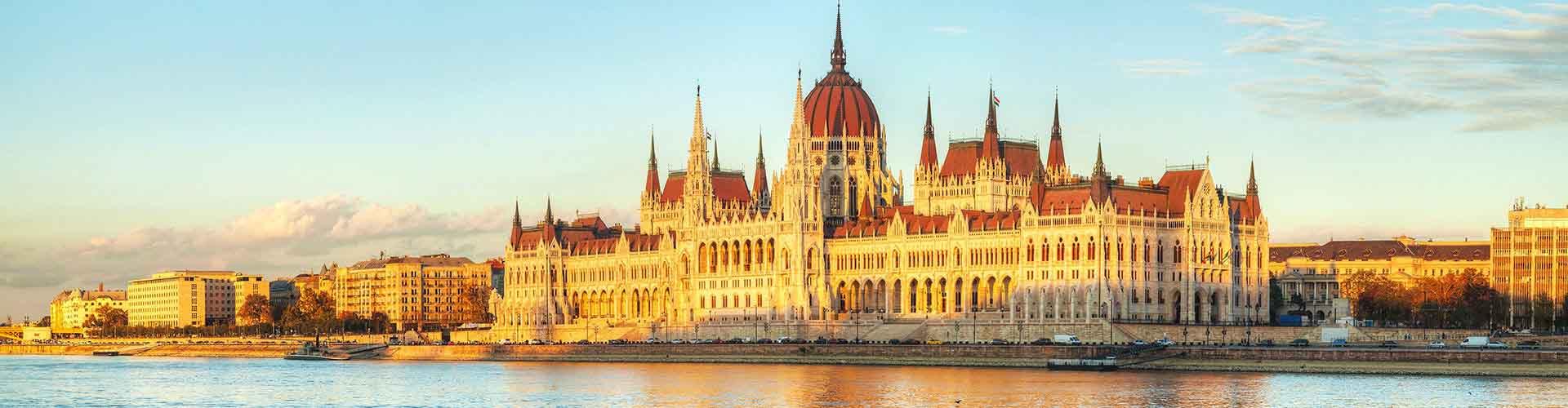 布达佩斯 – 布达城堡附近的露营地。布达佩斯地图,布达佩斯每个露营地的照片和评价。