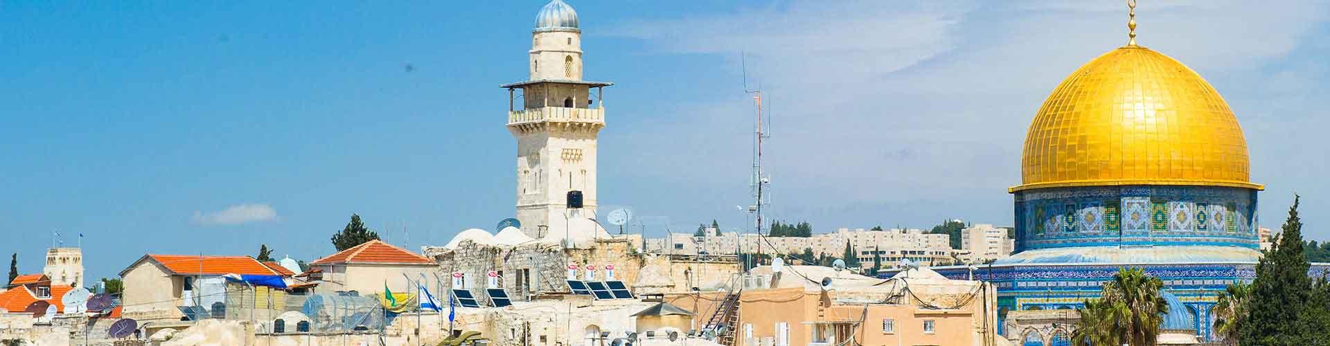 耶路撒冷 – 耶路撒冷的房间。耶路撒冷地图,耶路撒冷每间房间的照片和评价。