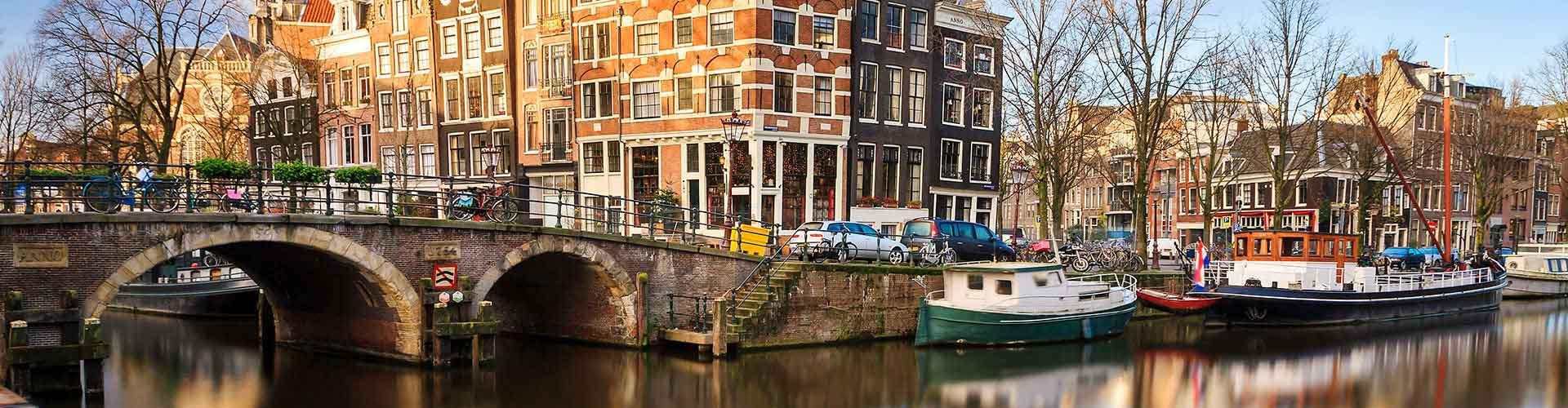 阿姆斯特丹 – 阿姆斯特丹Bijlmer竞技场铁路站附近的青年旅舍。阿姆斯特丹地图,阿姆斯特丹每家青年旅舍的照片和评价。