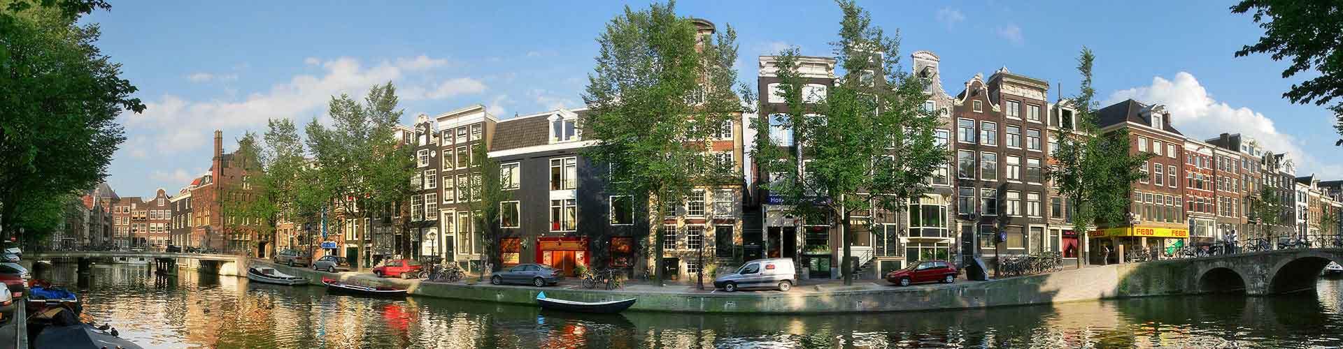 阿姆斯特丹 – 市中心附近的宾馆。阿姆斯特丹地图,阿姆斯特丹每间宾馆的照片和评价。
