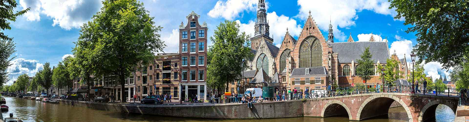 阿姆斯特丹 – 欧德科克附近的露营地。阿姆斯特丹地图,阿姆斯特丹每个露营地的照片和评价。
