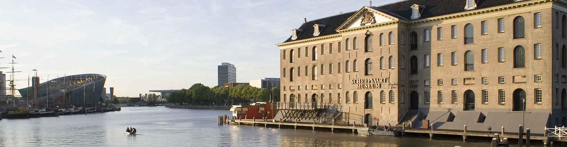 阿姆斯特丹 – 航海博物馆 附近的青年旅舍。阿姆斯特丹地图,阿姆斯特丹 所有青年旅馆的照片和评分。