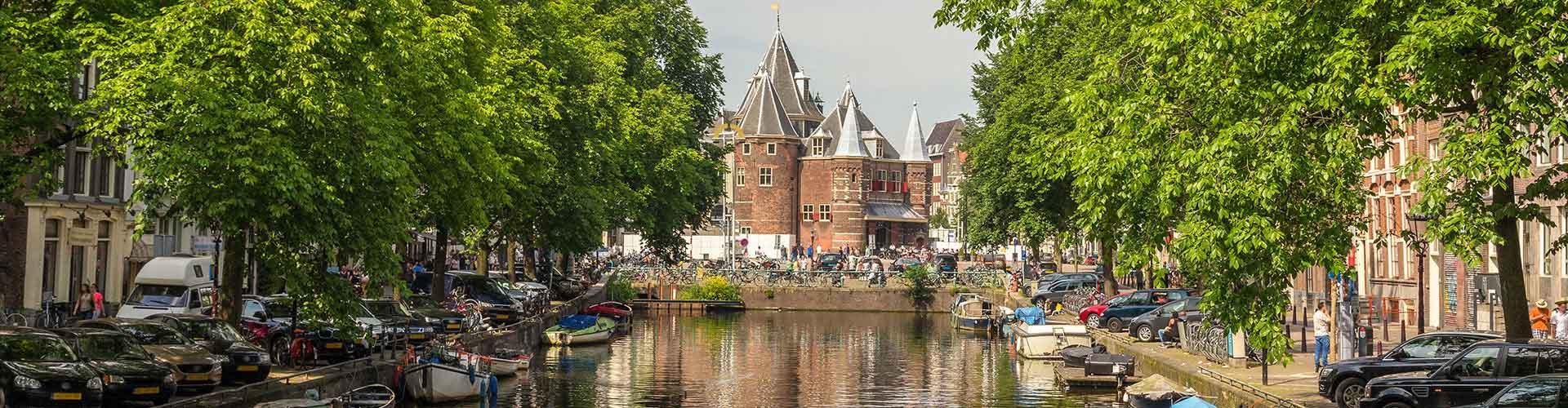 阿姆斯特丹 – 权衡楼附近的露营地。阿姆斯特丹地图,阿姆斯特丹每个露营地的照片和评价。