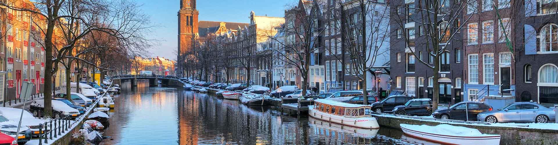 阿姆斯特丹 – 西教堂附近的公寓。阿姆斯特丹地图,阿姆斯特丹每间公寓的照片和评价。